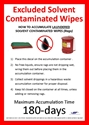 Picture of Excluded Solvent Contaminated Wipes - Laundered